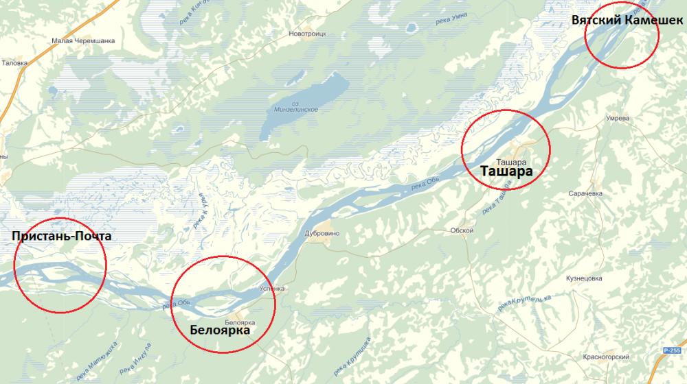 рыбалка на карте новосибирск