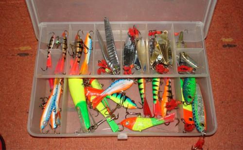 Приманки для зимней рыбалки