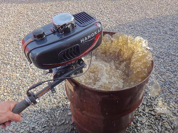 Чем промыть систему охлаждения двигателя лодочного мотора
