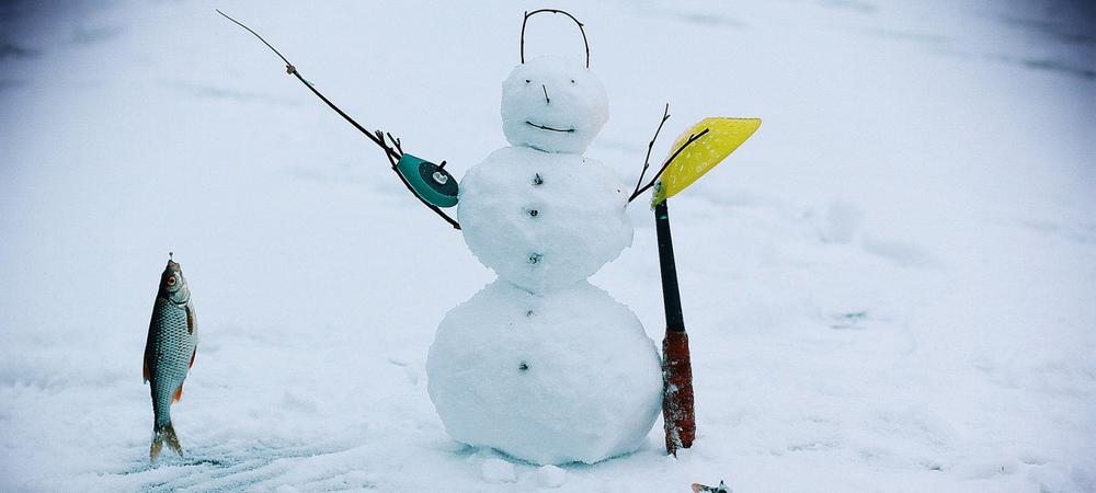 целом прикольное фото зимней рыбалки вилку