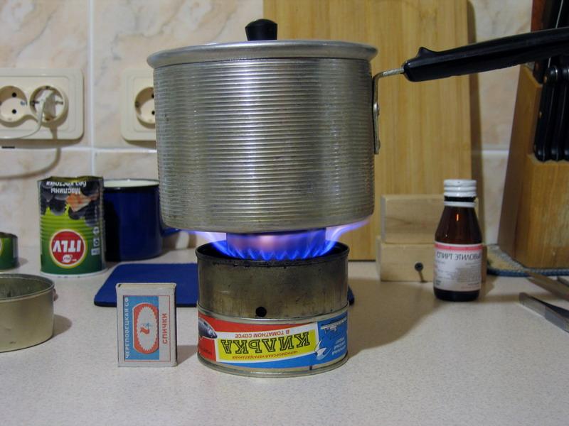 Мини печка для зимней рыбалки своими руками
