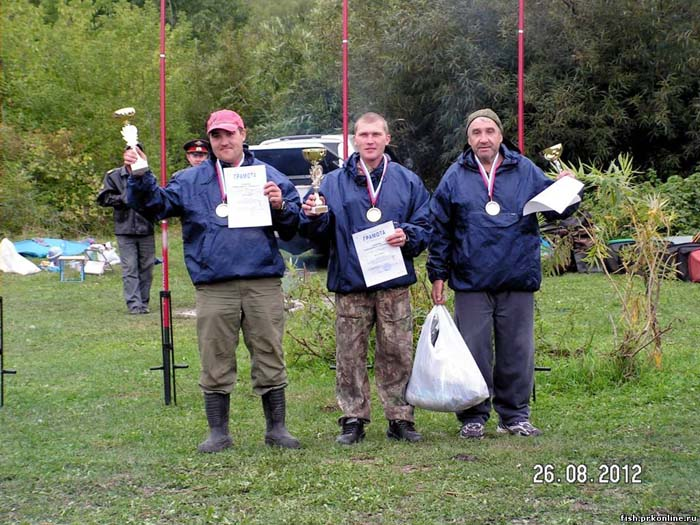 чемпионат по рыбалке томск