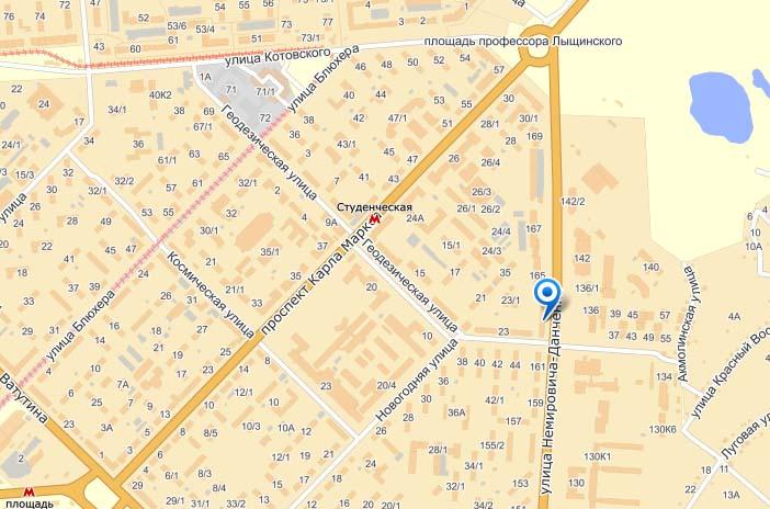 Карта Дальняя бровка