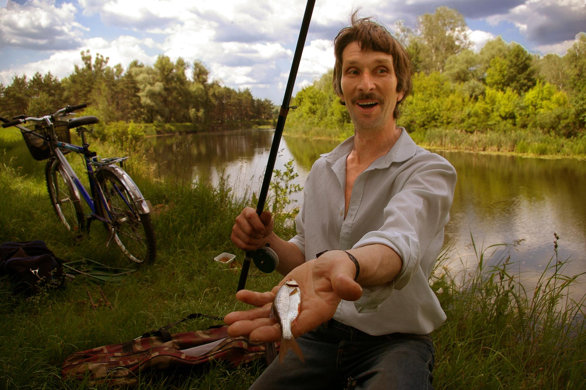 лучше на рыбалку или на дела