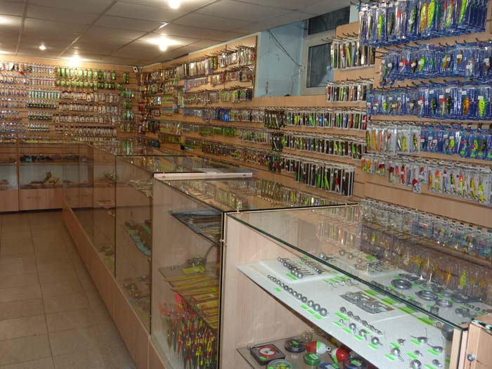 магазин для рыболовов новосибирск