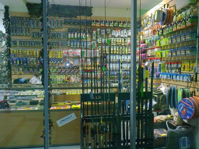 оптовый магазин рыболовных принадлежностей