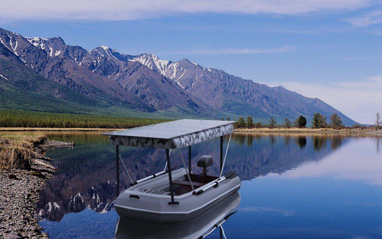 Солнечная электро-лодка