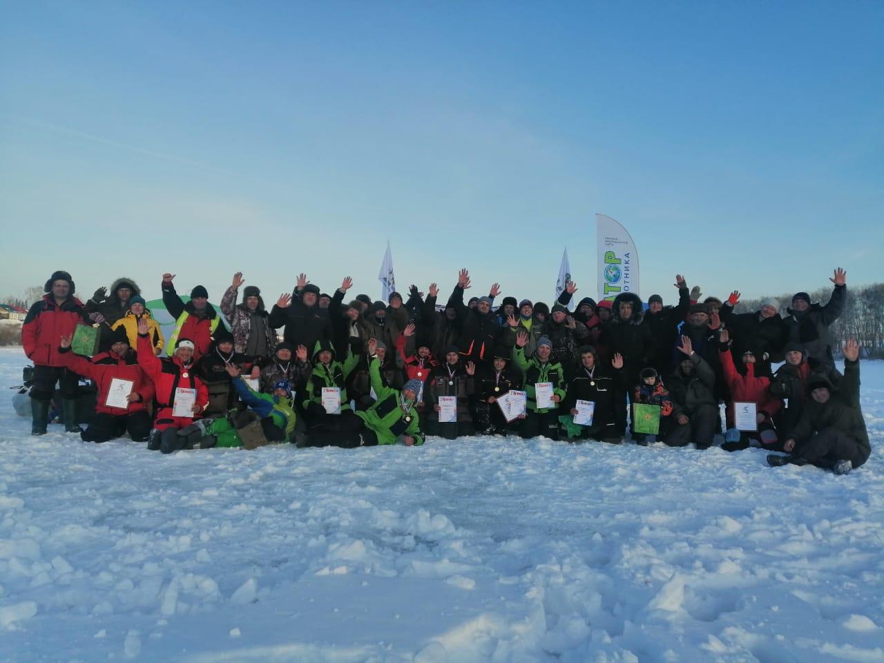 Первый этап. Кубок НСО по ловле на мормышку со льда
