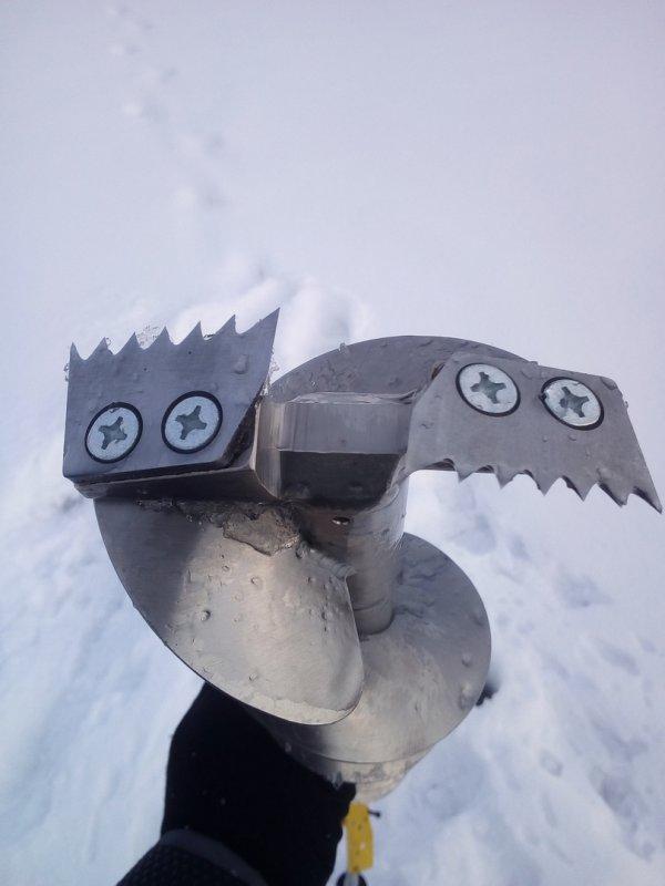 Продам зубчатые ножи ледобура для льда с песком