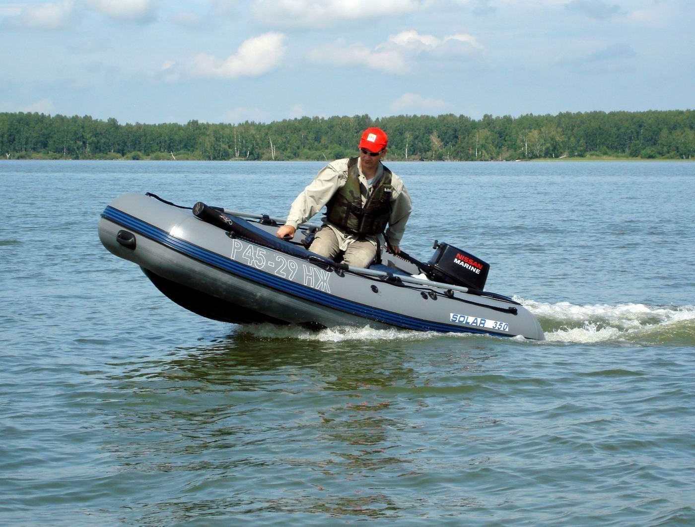 ОВХ. Лодка Солар-350М. Sergey1024 (сергей) вперед, на рыбалку!