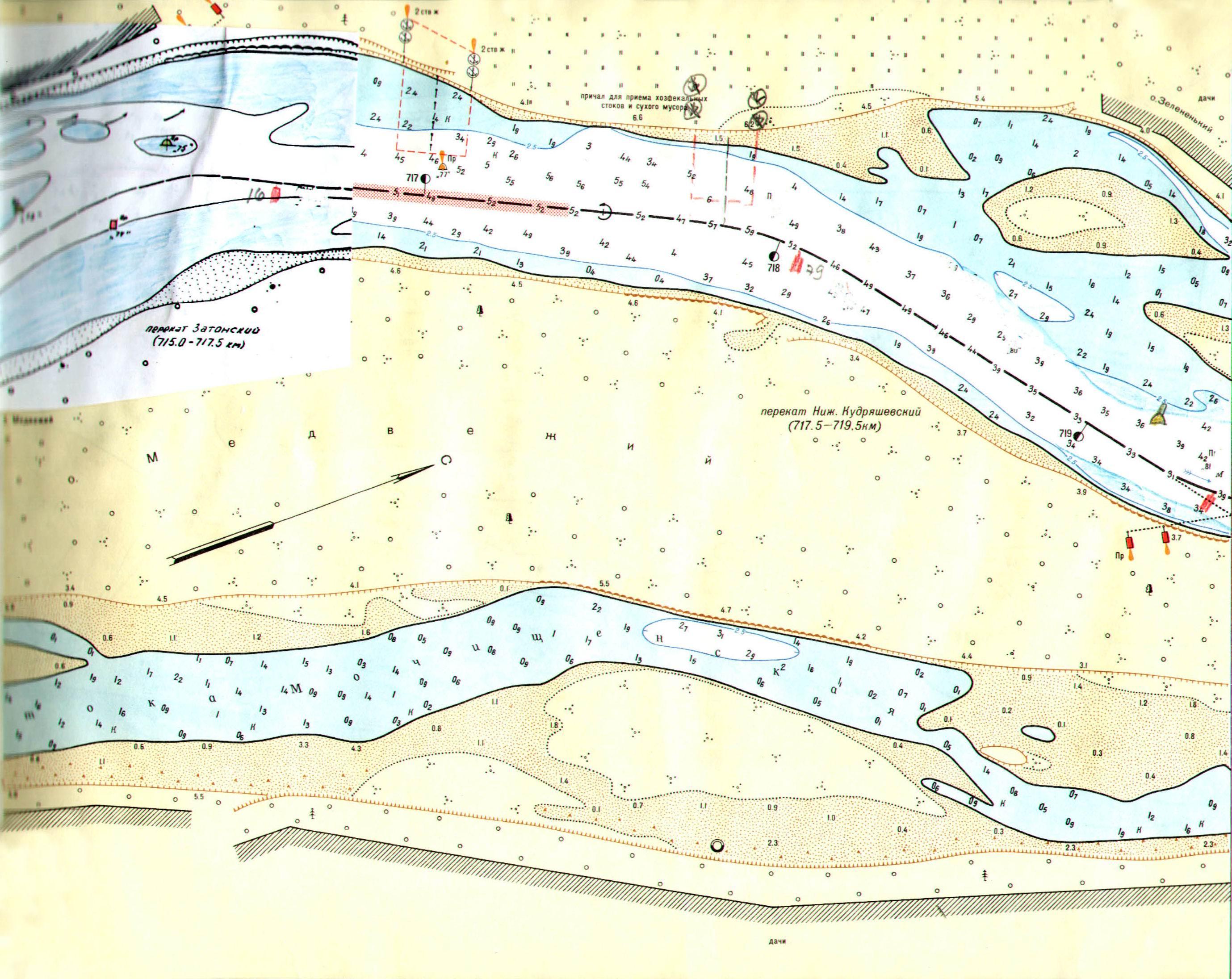 Лоция днепровского водохранилища картинки