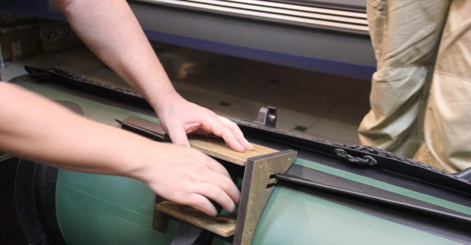 6 шагов для изготовления креплений держателей для спиннинга на лодку ПВХ и катер своими руками