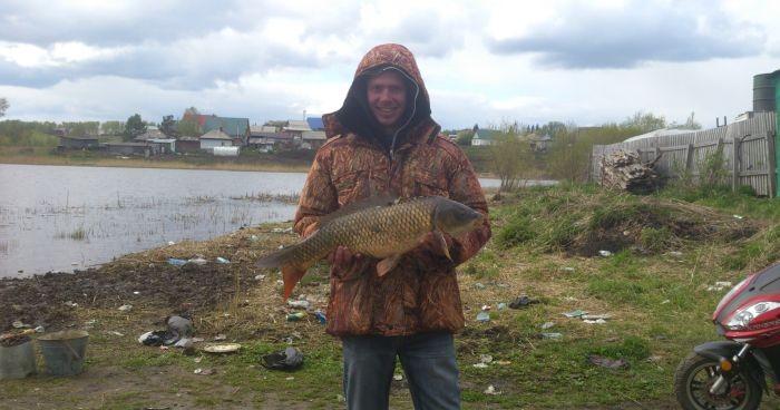ловля рыбы на каменке